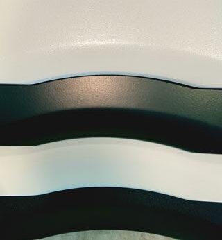 Silversan coated tops