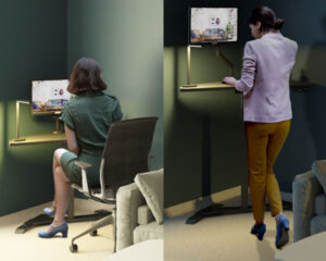Sitting and Standing postures while working